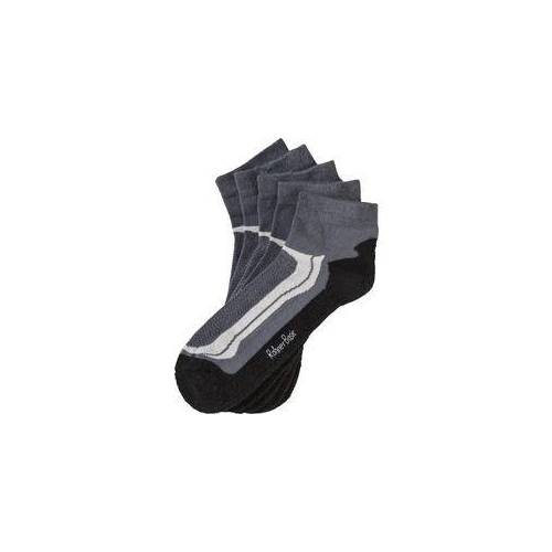 Rohner Basic Rohner 5er Pack Sneaker Socken schwarz
