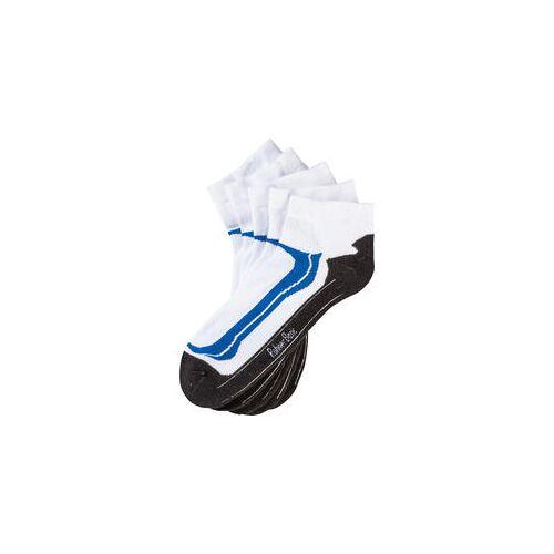 Rohner Basic Rohner 5er Pack Sneaker Socken weiß