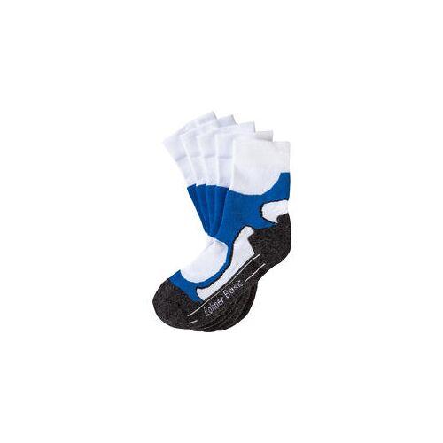 Rohner Basic Rohner 5er Pack Walking Socken weiß