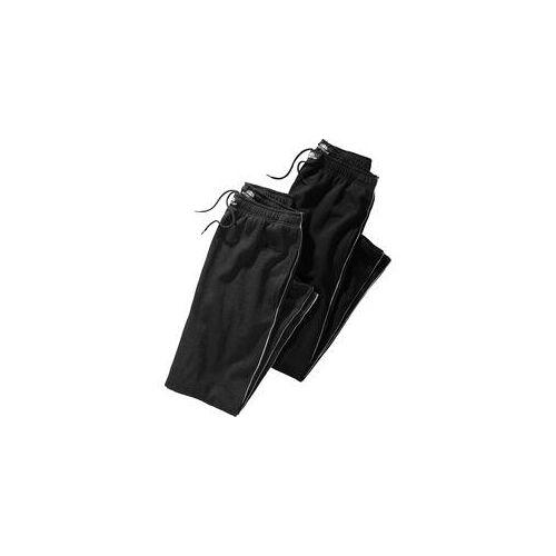 Nordcap Doppelpack Jogginghosen schwarz