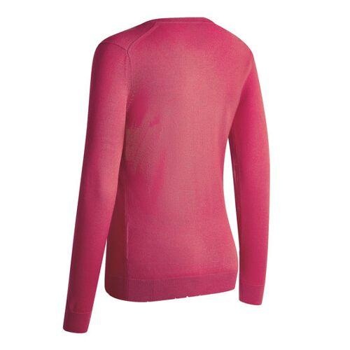 Callaway V-Neck Merino Sweater pink