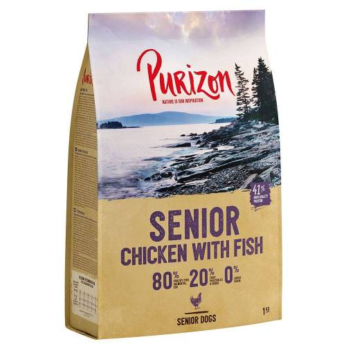 Purizon 12kg Senior Huhn & Fisch Purizon Dog Hundefutter trocken