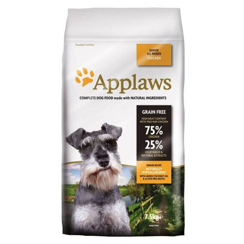 Applaws 2x7,5kg Senior mit Huhn Applaws Hundefutter trocken