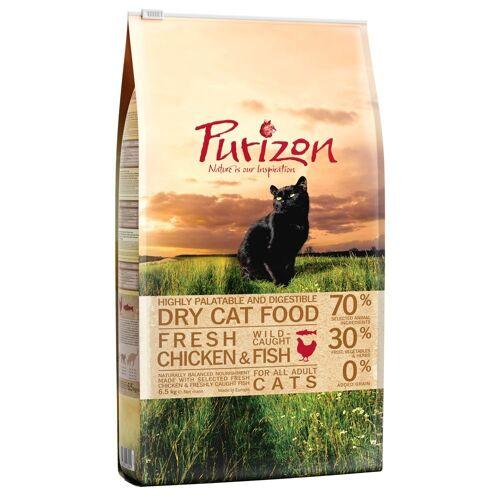 Purizon 6,5kg Adult Huhn & Fisch Purizon Cat Katzenfutter trocken