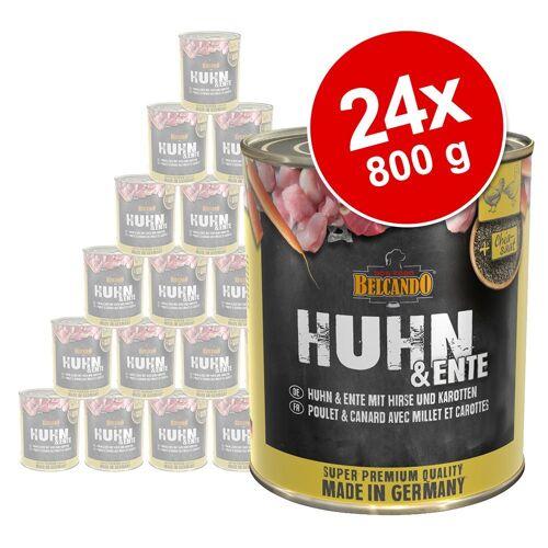 Belcando 24 x 800 g BELCANDO Super Premium Nassfutter Hund: Mix - 4 Sorten