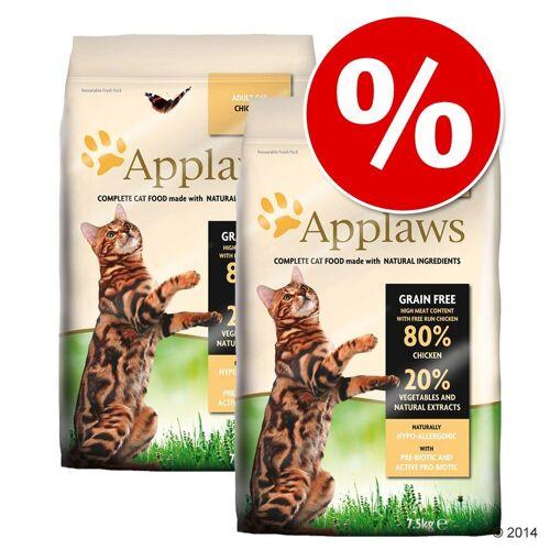 Applaws 2x7,5kg Huhn Applaws Katzenfutter trocken