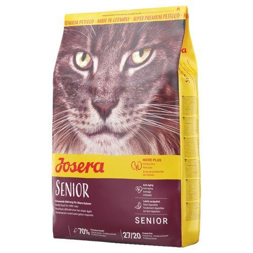 Josera 10kg Senior Josera Trockenfutter für Katzen