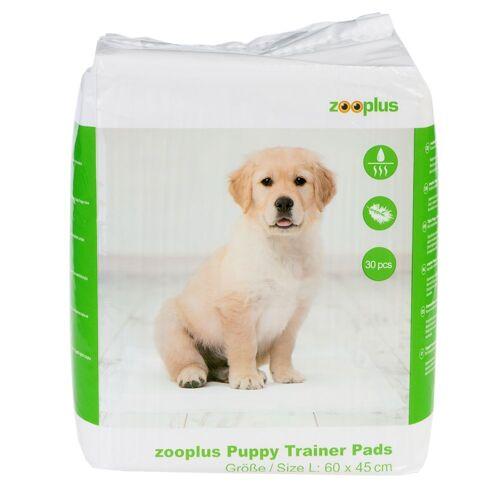 zooplus Exclusive zooplus Trainingsunterlage für Hundewelpen Large: L 60 x B 45 cm, 30 Stück Puppy Pads Hund