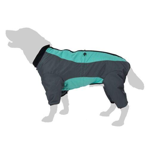 zooplus Exclusive Hundeoverall Mint - Rückenlänge 45 cm (Größe 2XL)