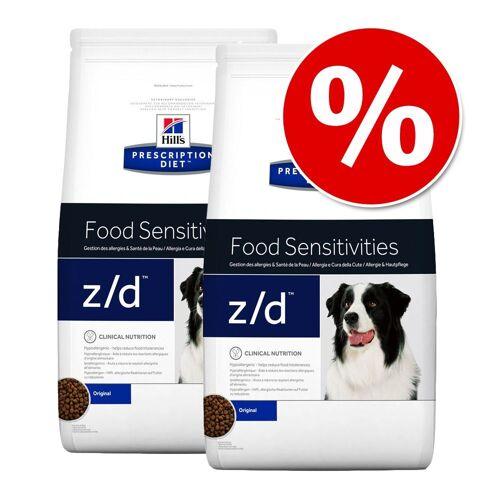 Hill's Prescription Diet 2x12kg w/d Low Fat - Diabetes Hill's Hundefutter trocken