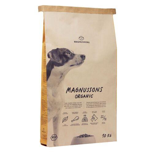 10 kg MAGNUSSONS ORGANIC Hundefutter trocken