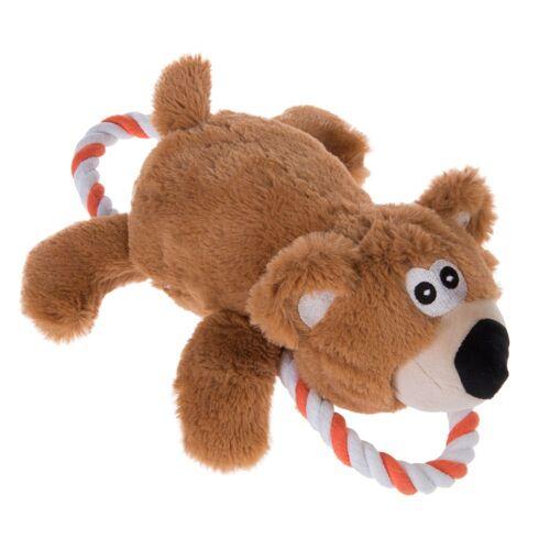 Bär mit Tau - Hundespielzeug