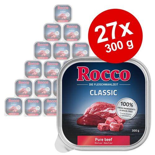 Rocco 9x300g Schale Huhn Rocco Hundefutter nass