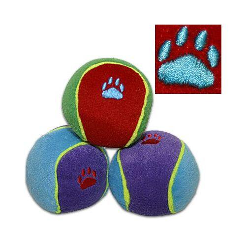 Trixie Hundespielzeug Bunte Bälle 6 Stück