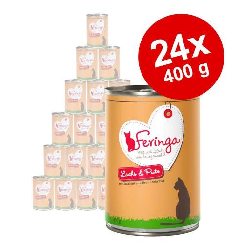 Feringa 24x400g Classic Meat Menü Wild Feringa Katzenfutter nass