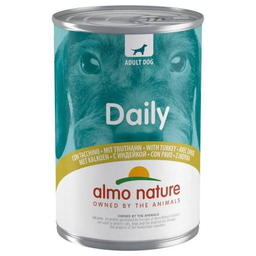 400g Rind Almo Nature Daily Hundefutter nass
