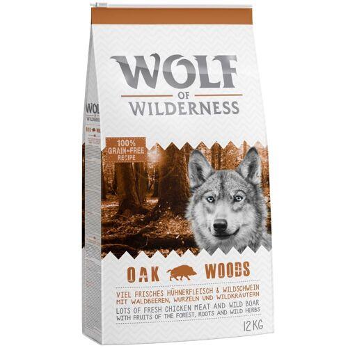 Wolf of Wilderness 5kg Adult Oak Woods Wildschwein Wolf of Wilderness Hundefutter