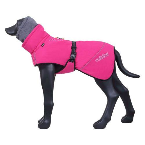 Rukka Pets Rukka® Warmup Hundemantel, pink ca.43cm Rückenlänge (Größe 40) Hund
