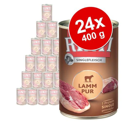 24 x 400g Exclusive Pur RINTI Hundefutter nass