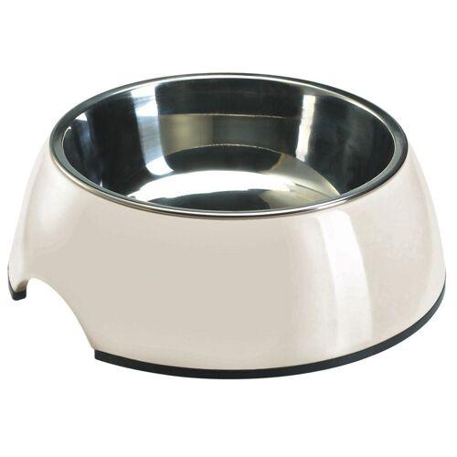 Melamin Hundenapf 350 ml  in weiß, Ø 14 cm