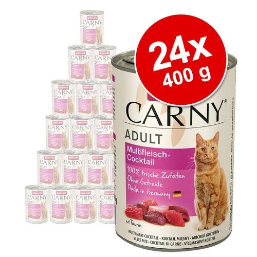 Animonda Carny 24 x 400 g Animonda Carny Adult Pute & Lamm Kittenfutter nass
