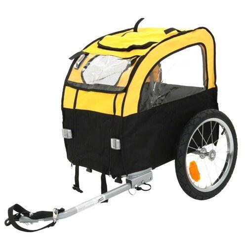 Fahrradanhänger Mini Bee - Anhängerkupplung für Zweitfahrrad