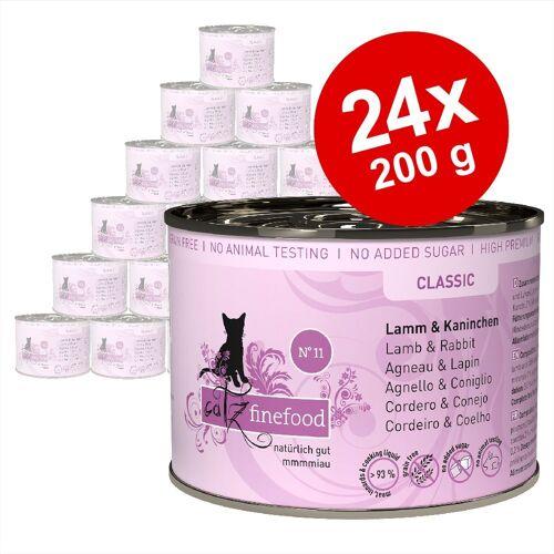 catz finefood 24 x 200g Mix catz finefood Katzenfutter nass