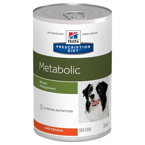 Hill's Prescription Diet 48x370g Metabolic Hill's Prescription Diet Hundefutter nass