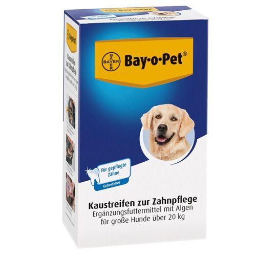 12 x 140 g Bay-o-Pet Zahnpflege Kaustreifen für große Hunde