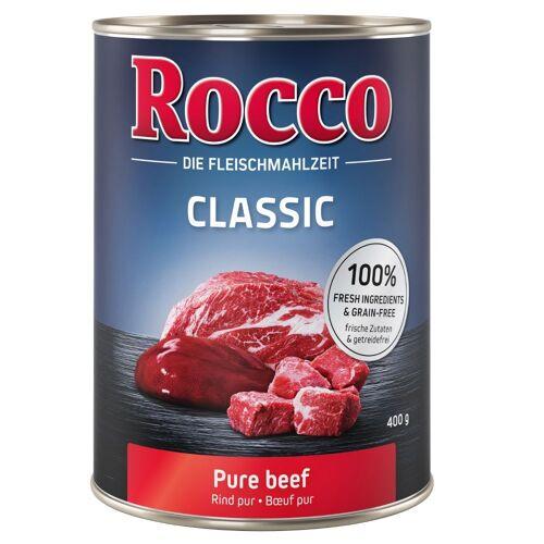 Rocco 6x400g Classic Rind mit Wildschwein Rocco Hundefutter nass