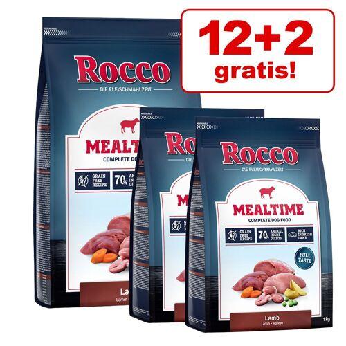 Rocco 12+2 kg gratis Rocco Trockenfutter Rind