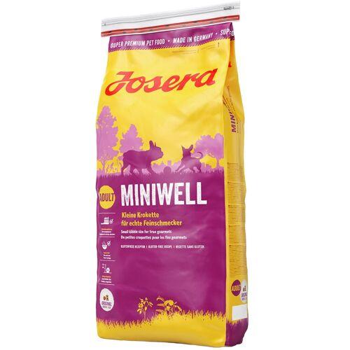 Josera 15kg Miniwell Josera Hundefutter trocken