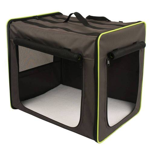 Hundetransportbox Faltbar Größe M, B46 x T61 x H53,5cm