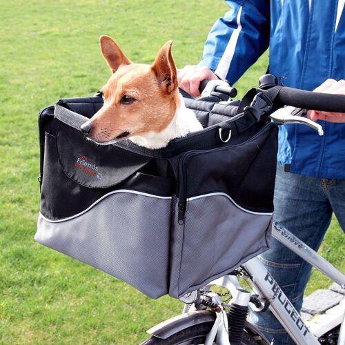 Trixie Fahrradkorb für Hunde, L41 x B26 x H26cm