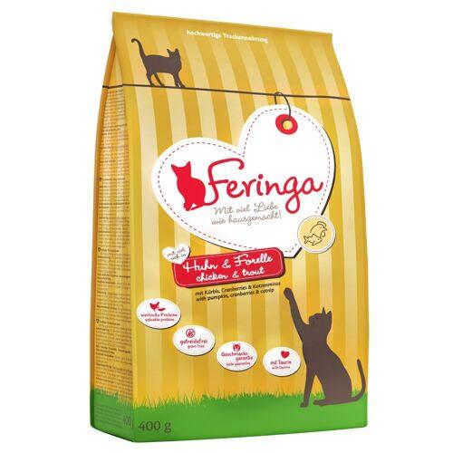 Feringa 5x2kg Adult Huhn & Forelle Feringa Katzenfutter trocken
