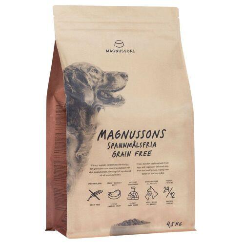 4,5kg Meat & Biscuitgrain Free Magnusson Hundefutter trocken