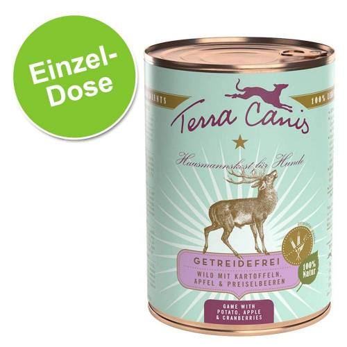 400 g Terra Canis Hundefutter Getreidefrei, Pute mit Sellerie, Kürbis & Brunnenkresse