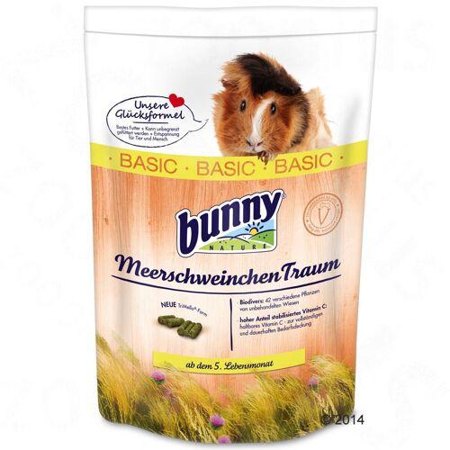 2x4kg MeerschweinchenTraum BASIC Bunny Meerschweinchenfutter