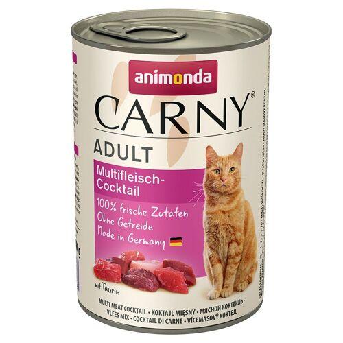 Animonda Carny 6 x 400 g Adult Rind Animonda Carny Katzenfutter nass
