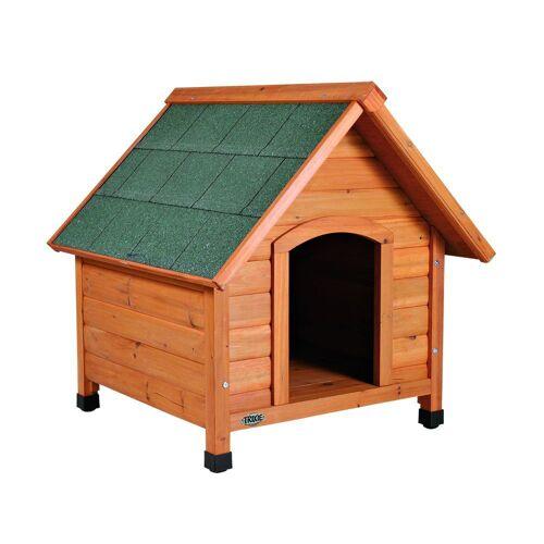 Hundehütte Trixie Natura mit Spitzdach, Größe XL: B 96 x T 112 x H 105 cm
