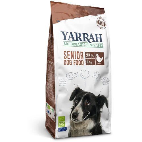 10kg Bio Hundefutter Senior Yarrah Hundefutter trocken