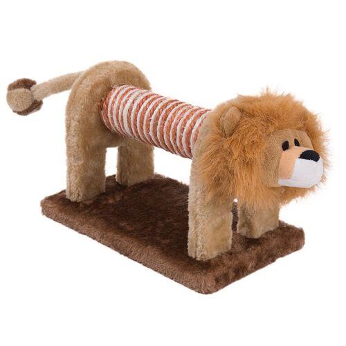 Katzenspielzeug Kratz-Löwe, L 28 x B 17 x H 20 cm