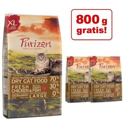 Purizon 6,5 kg + 800 g Adult Fisch Purizon Katzenfutter Trocken