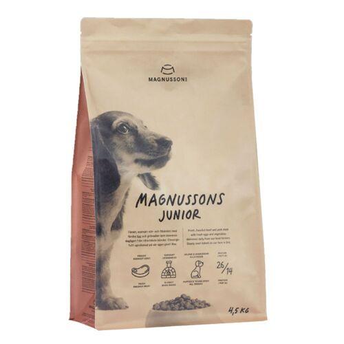2 x 10kg Meat & Biscuit Junior Magnusson Hundefutter trocken