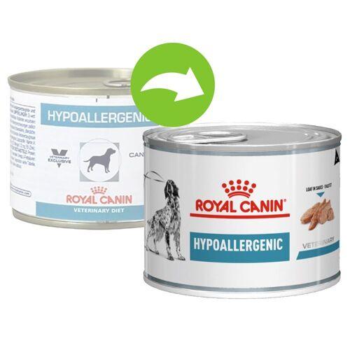 24x200g Hypoallergenic Royal Canin Veterinary Diet Hundefutter nass