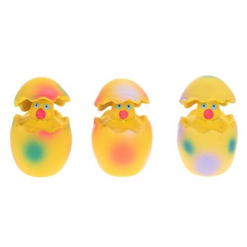 Latex Ei Hundespielzeug mit Küken