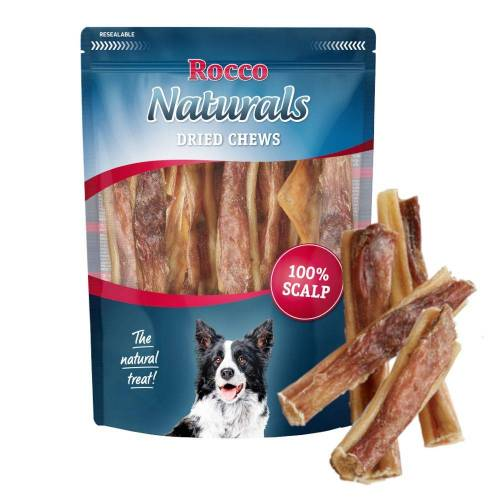 Rocco 650g Rinderkopfhaut Hunde Rocco Hundesnack