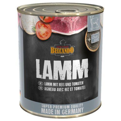 Belcando 6 x 800 g BELCANDO Super Premium - Huhn & Ente mit Hirse & Karotten Hundenassfutter