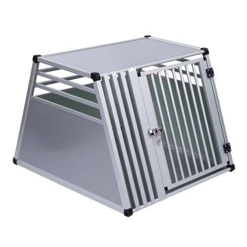 Autohundebox AluRide, Größe S: B 50 x T 82 x H 65 cm