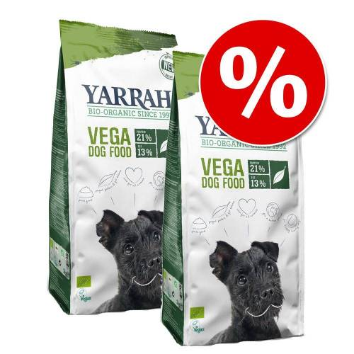 2 x 10kg Yarrah Bio Hundefutter trocken